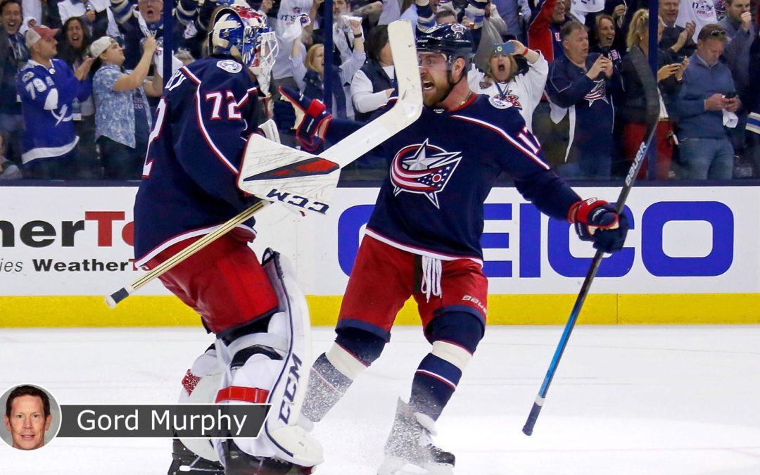 Blue Jackets sweep of Lightning first step on deep playoff run