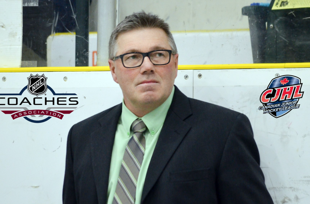 PRESS RELEASE: Blake Spiller, Portage Terriers (MJHL) Named 2018-19 Darcy Haugan/Mark Cross Memorial – CJHL Coach of the Year Award Recipient