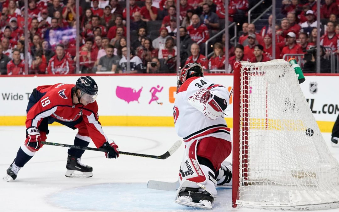 Capitals benefiting from playoff experience against Hurricanes