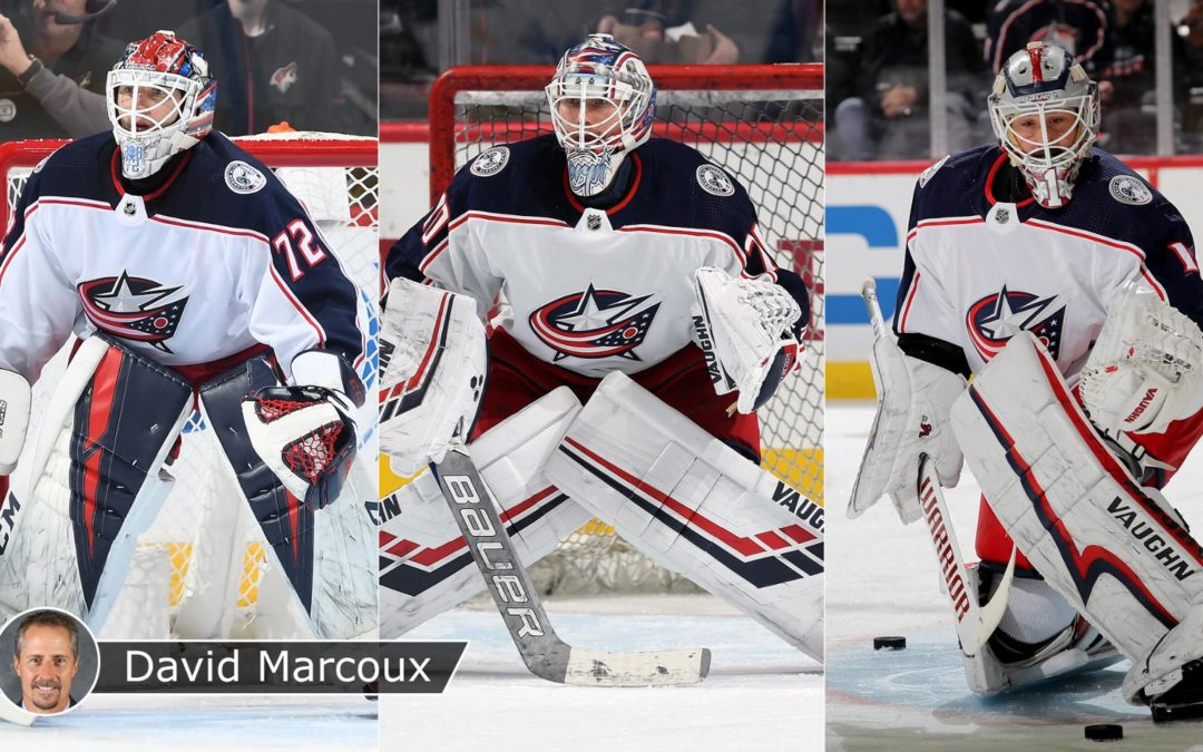 Three goalies on roster provides challenge for Blue Jackets, Flyers