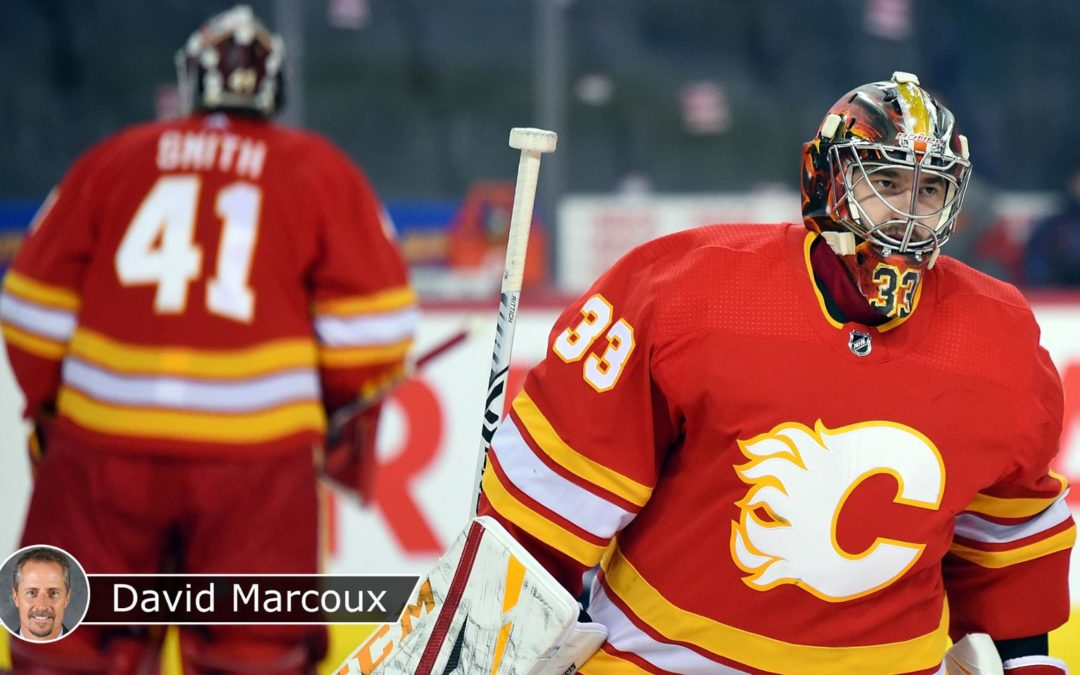 Flames face several challenges in transition to new No. 1 goalie