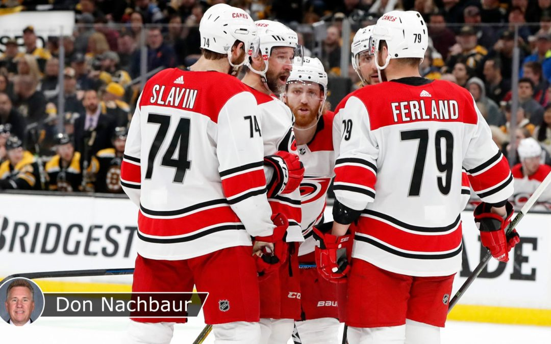 Hurricanes need cleaner defensive-zone exits against Bruins in Game 3