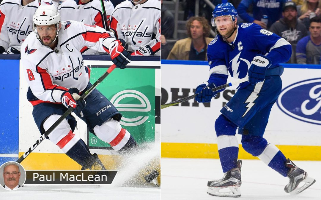 Ovechkin, Stamkos add wrinkle to power play