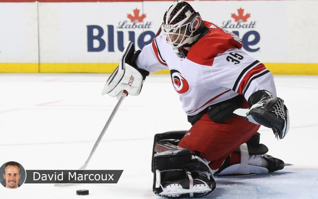 McElhinney gives Hurricanes proven insurance against Bruins in East Final