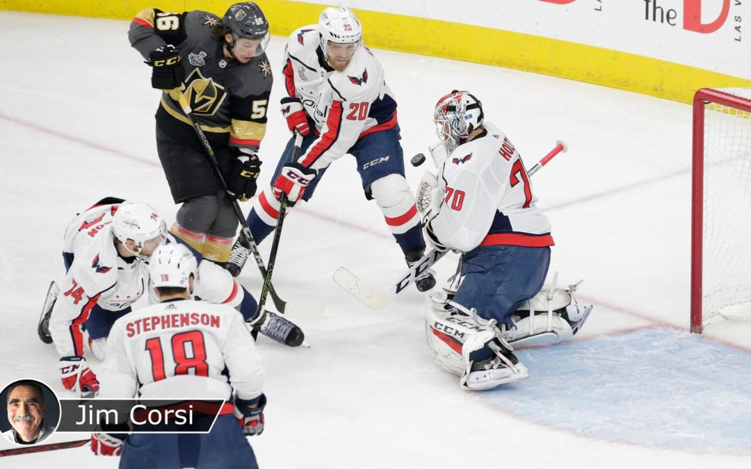 Capitals won Game 2 of Cup Final with improved defense