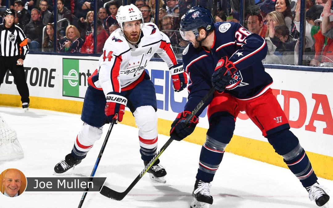 Capitals, Blue Jackets morphing game plans as series progresses