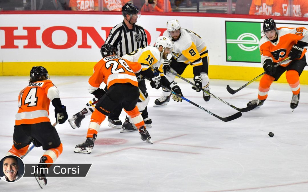 Flyers paying big price for mistakes against Penguins in playoffs