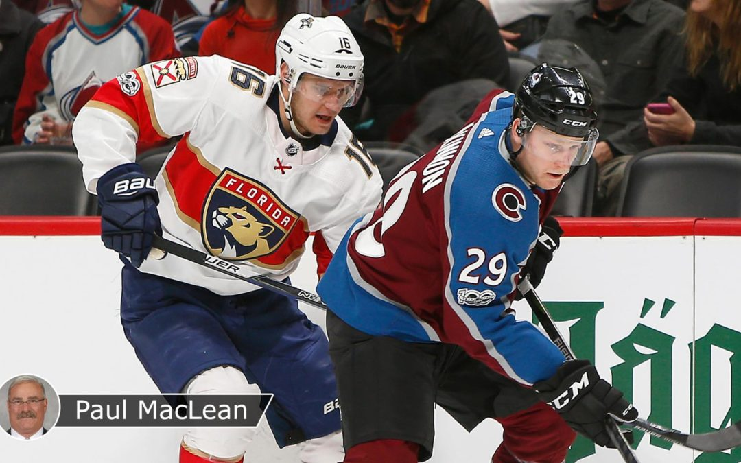 Panthers, Avalanche making late playoff push