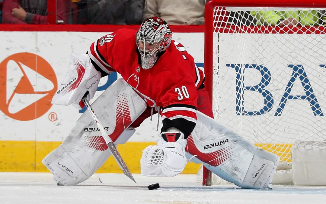 Puck-handling skills important weapon for goalies