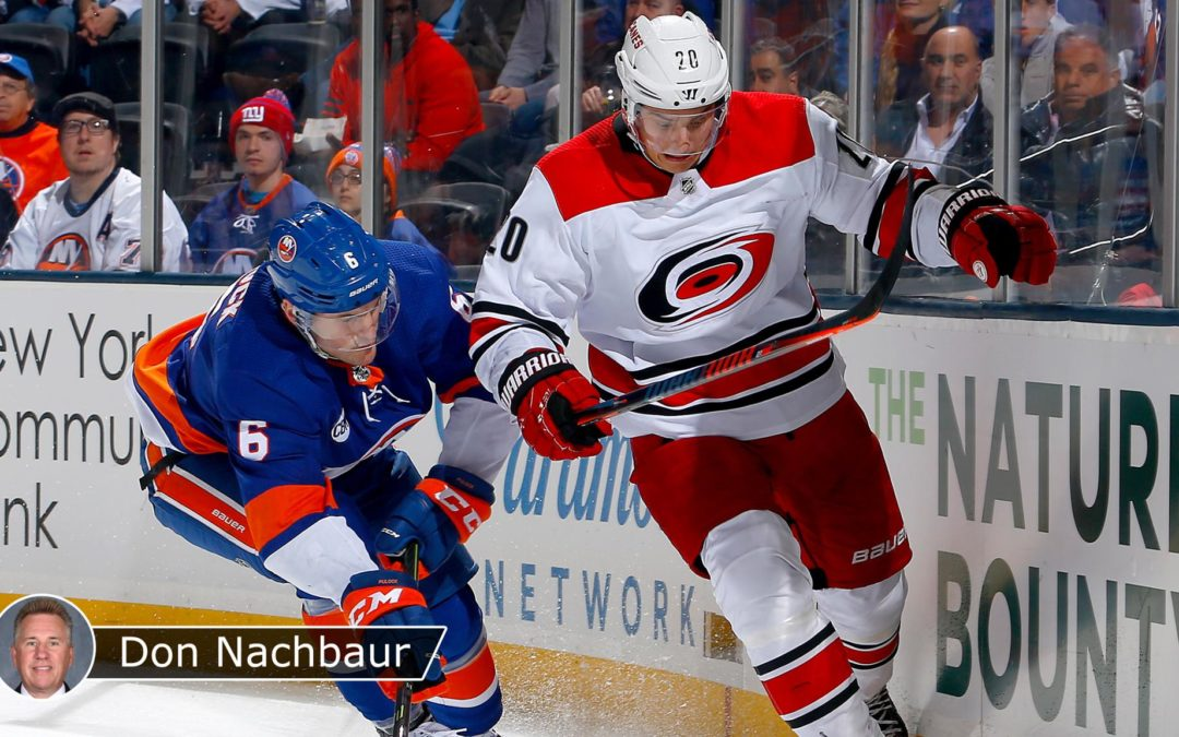 Islanders, Hurricanes face different challenges in Game 1