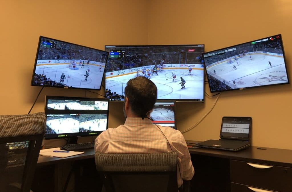 What's an NHL video room like during a game? Inside Dallas Stars mission control