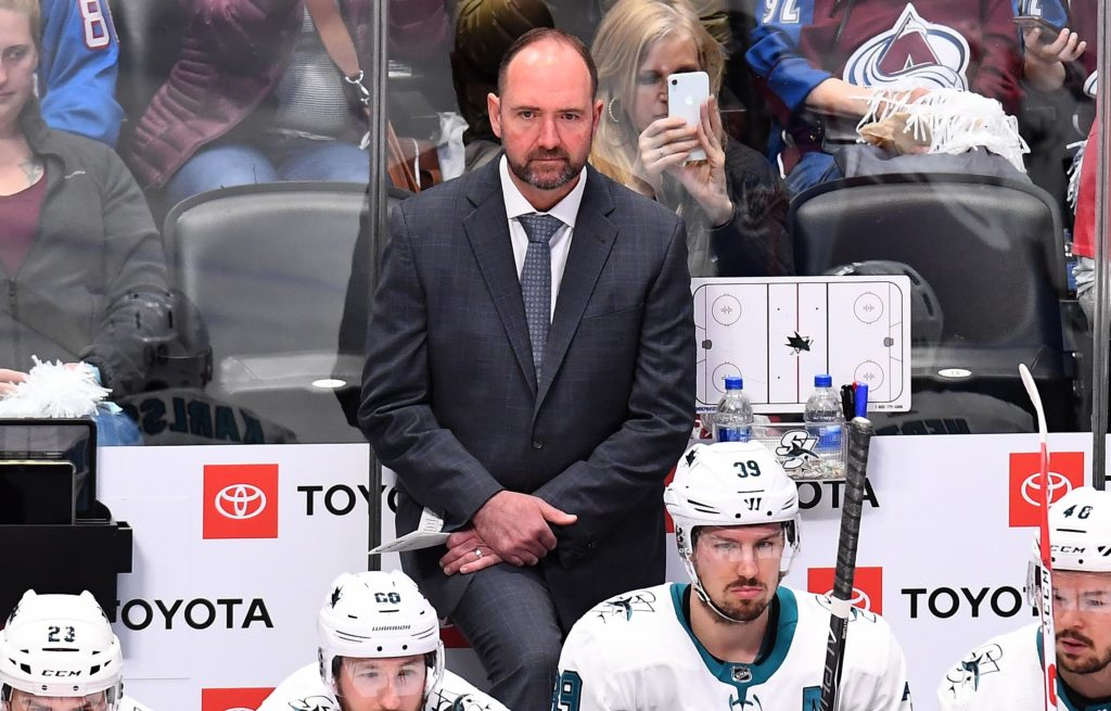 The gamble that made the Sharks' Pete DeBoer an elite NHL coach