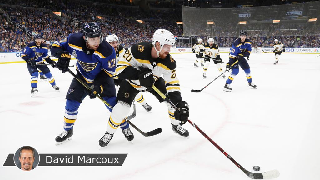 Blues, Bruins have no surprises left for Game 5 in Stanley Cup Final