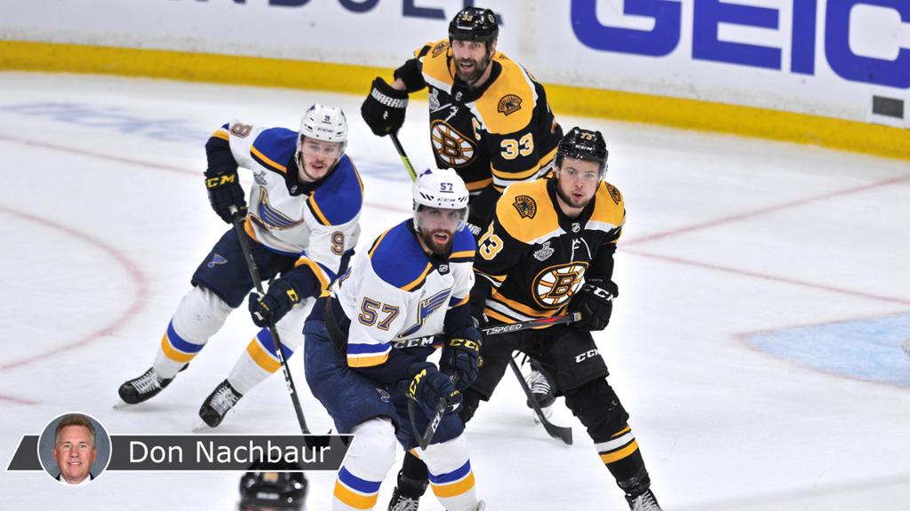 Blues, Bruins focus on adjustments for Game 3 of Cup Final