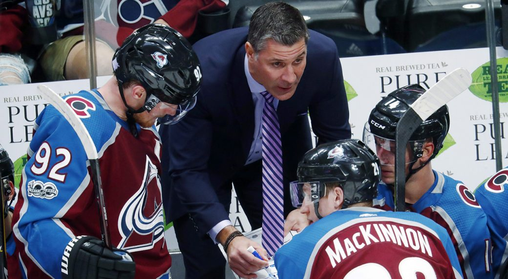Avalanche sign head coach Jared Bednar to two-year extension