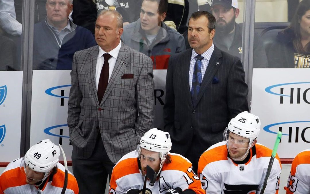 Help not available: NHL staffs brimming with ex-head coaches