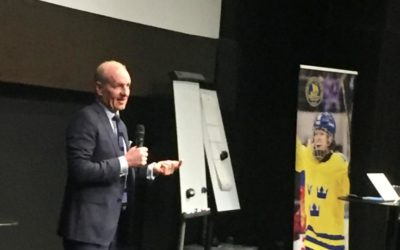 Krueger imparts wisdom on Swedish coaches at Global Series