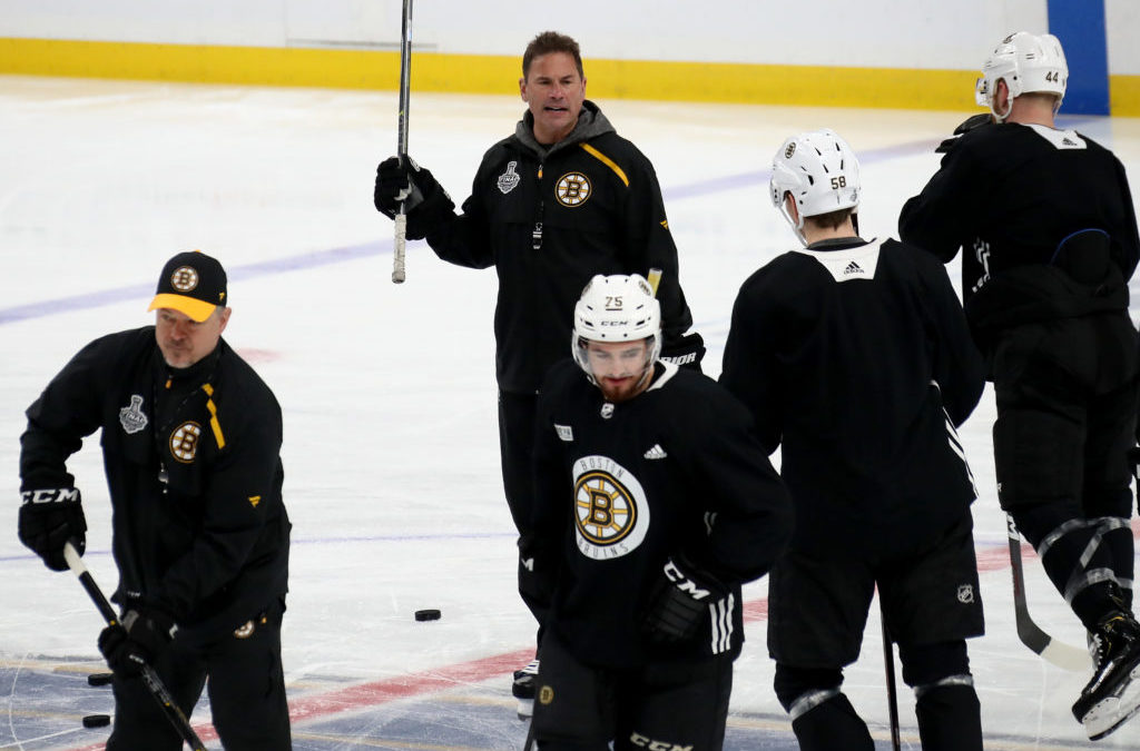 Inside Bruce Cassidy's intense, tight, essential practice plans