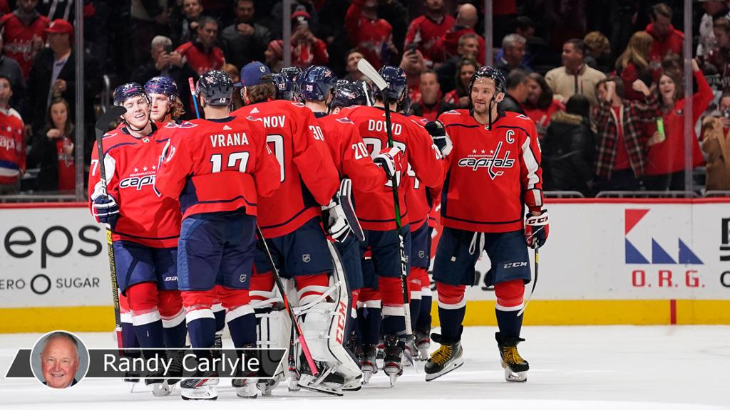 Capitals' early success total team effort