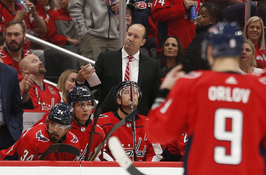 How do the Capitals know when to use a coach's challenge?