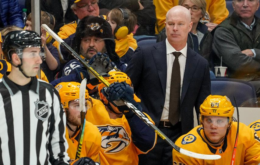 Five Things: Get to Know Preds Head Coach John Hynes