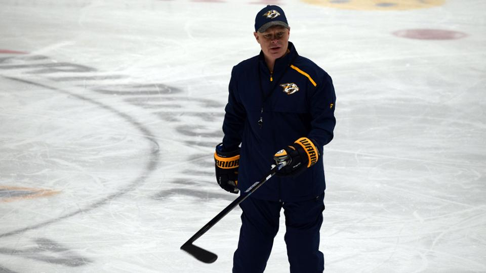 Preds Learn from Hynes During First Practice as Head Coach
