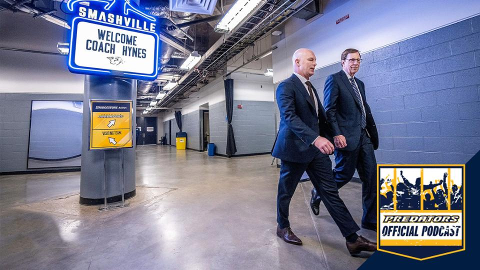 Preds Official Podcast: Head Coach John Hynes