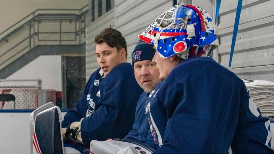 The Legace Project: Trust helps CBJ goalie coach build young netminders