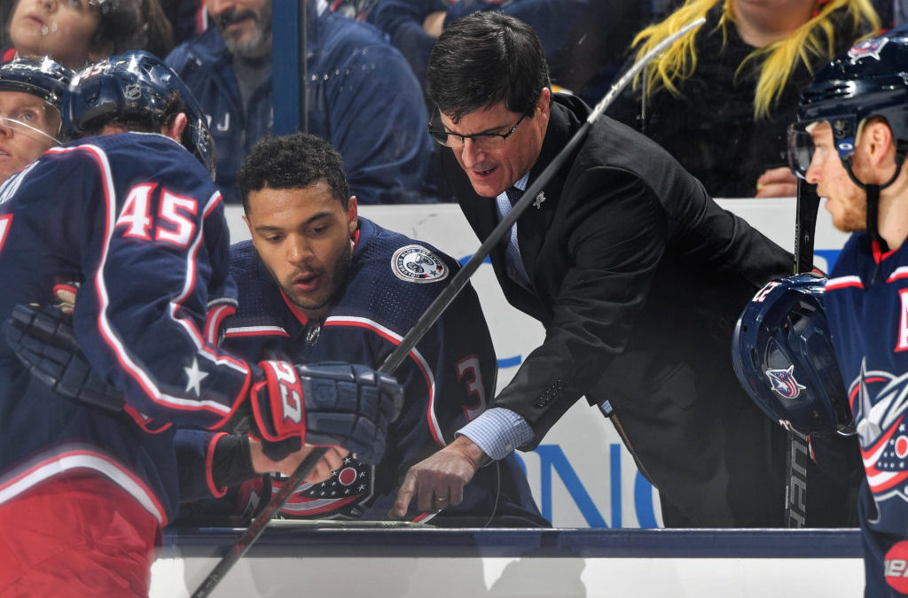 Inside the coaches office: How the Blue Jackets measure puck management