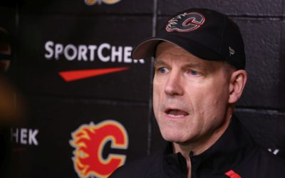 Flames interim coach Ward cherishes memories, lessons from stint in Boston