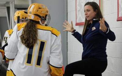 Junior Predators Coach Plays in NWHL, Leads Youth Female Players