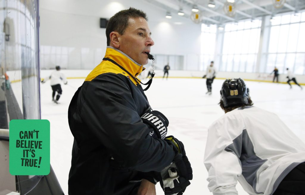 For Bruce Cassidy, a phone call on the links offered a career lifeline