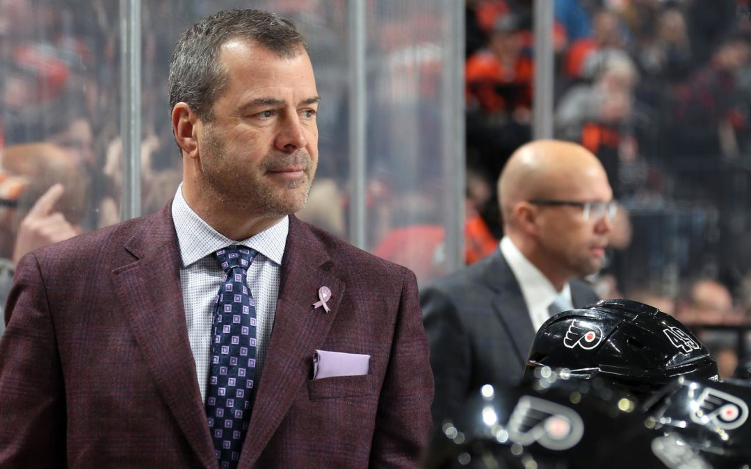 Vigneault, Flyers helping senior citizens during pause