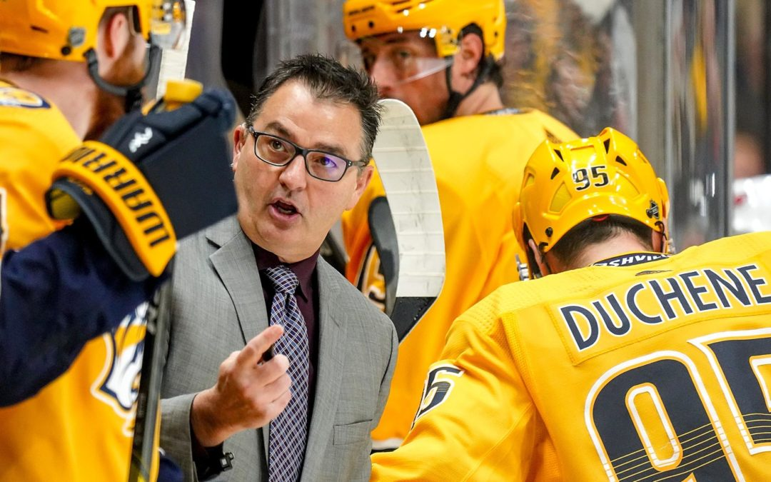Memorial Cup Experiences Helped Shape Preds Assistant Coach Lambert