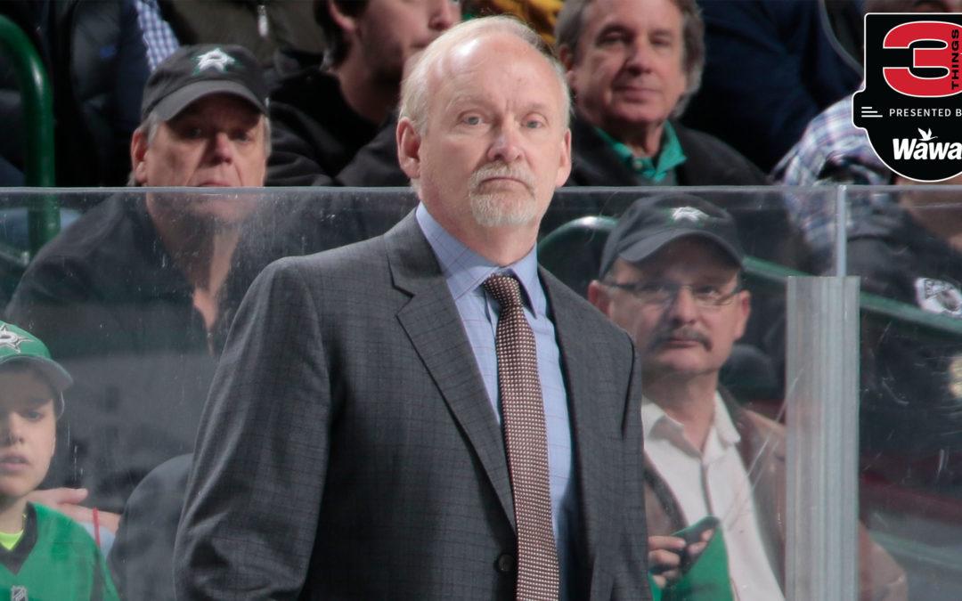 THREE THINGS: Devils Name Lindy Ruff Head Coach