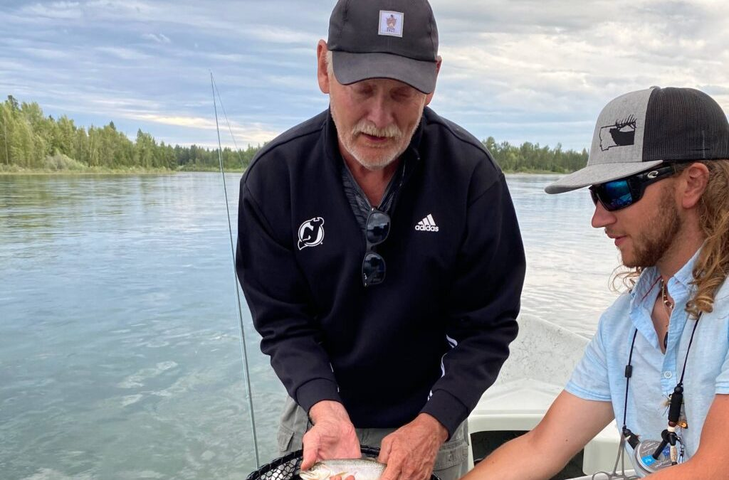 Inside Lindy Ruff's unique first month with the Devils from a lake in Montana