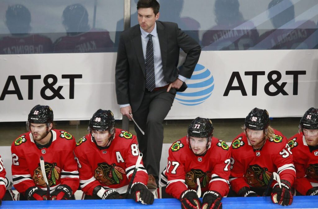 Blackhawks coach Jeremy Colliton on the plan, the core and the future