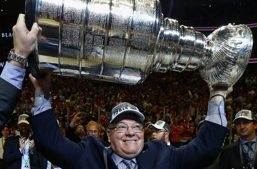 How Scotty Bowman serves as Jeremy Colliton's questioner, confidante, consigliere