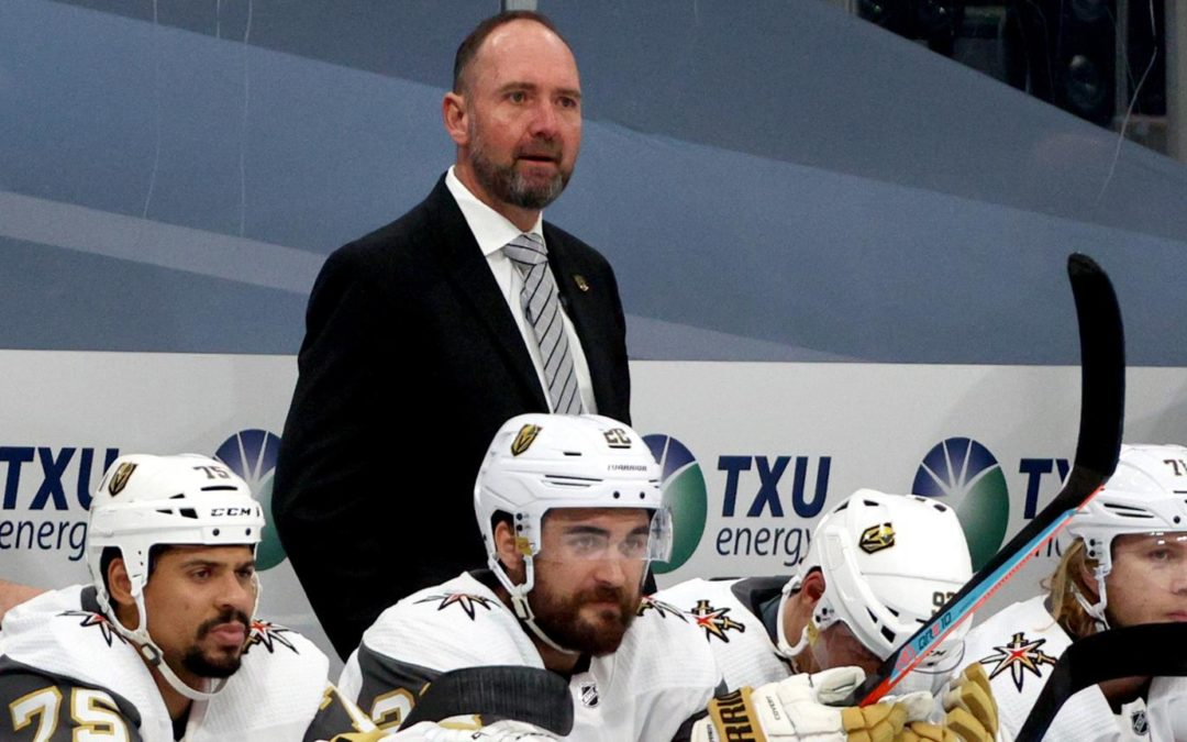 DeBoer says he'll be better coach with Golden Knights this season: report