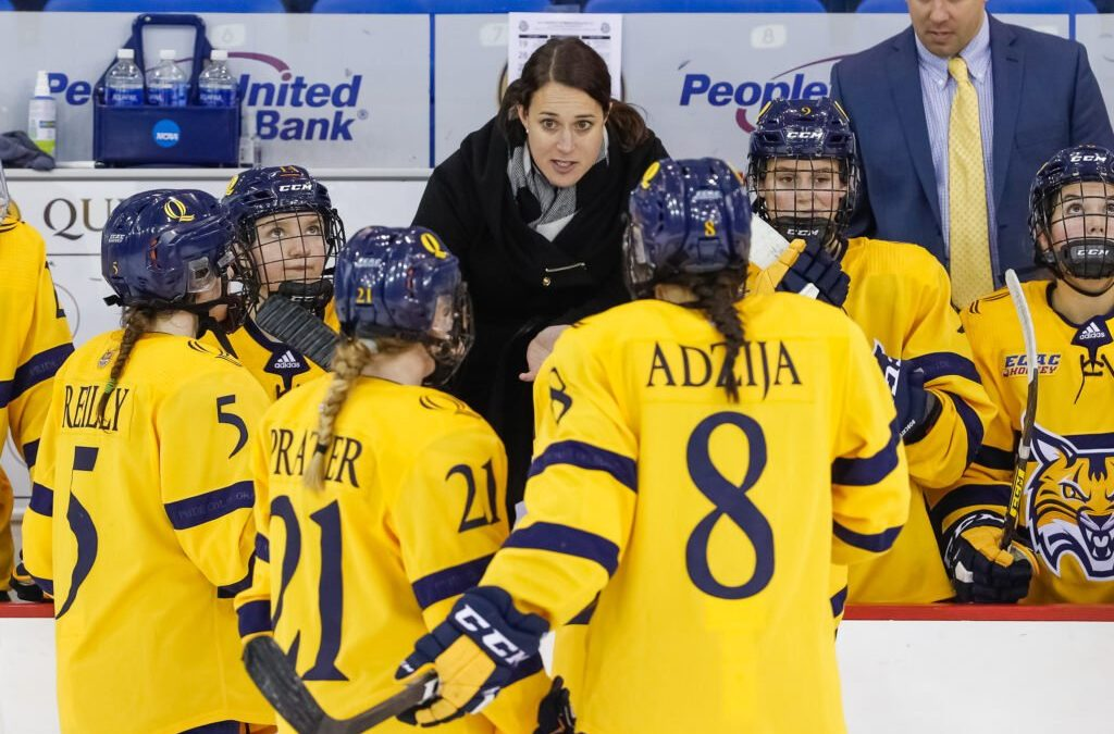 How to get more women behind the bench: Inside an NHL coaches development push
