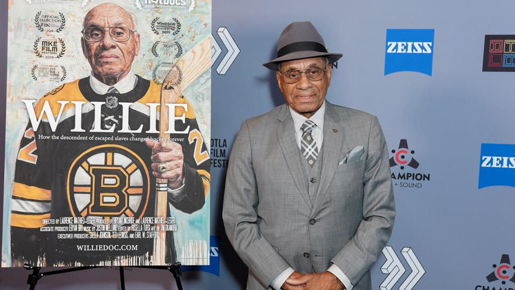 O'Ree honored by NHL Coaches' Association with declaration signing