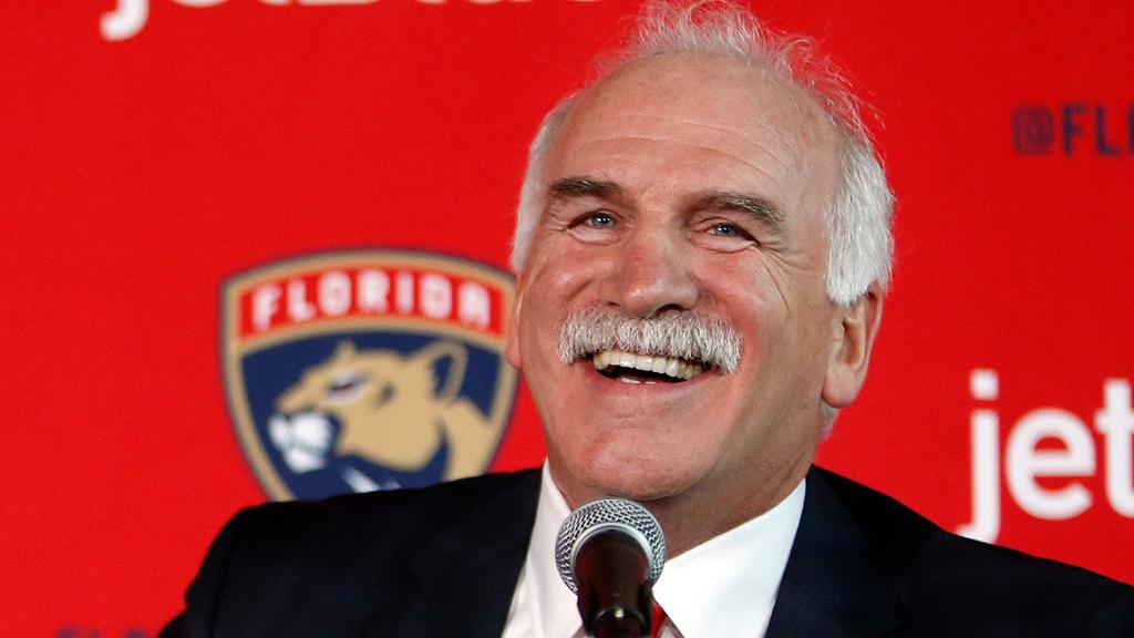 Quenneville talks expectations for Panthers on NHL @TheRink podcast