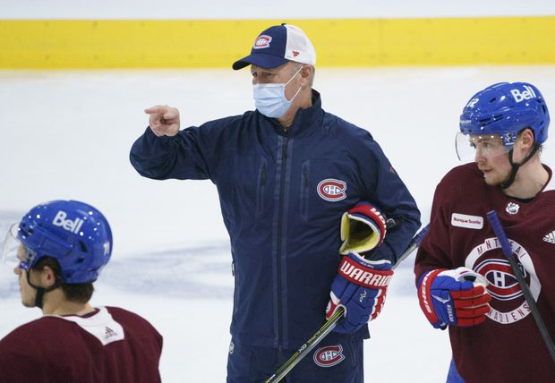 Claude Julien 'extremely fortunate' to be back behind the Canadiens bench after health scare