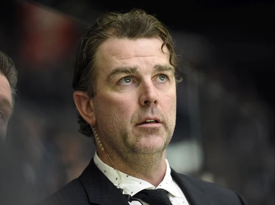 Jamie Heward won't soon forget his debut as an NHL coach