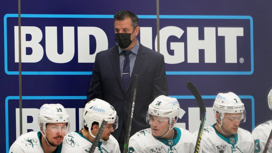 Sharks' Bob Boughner explains his way of holding players accountable
