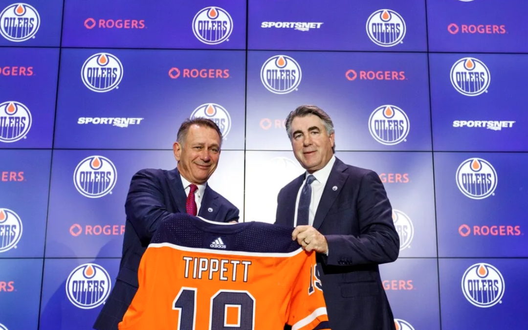 Oilers' McDavid & Tippett Reach Milestones