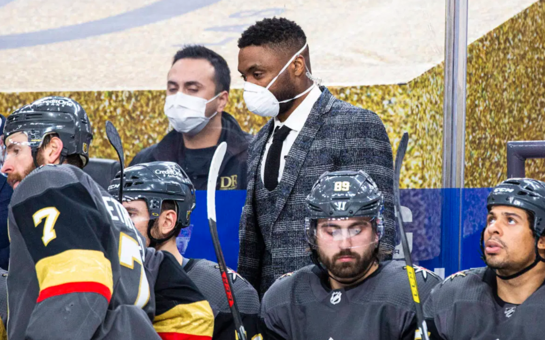 Joel Ward brings fresh perspective as Silver Knights assistant