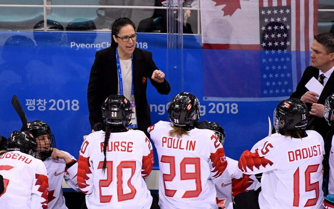Future of female coaches discussed on 'NHL @TheRink' podcast