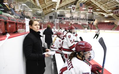 Female hockey coaches benefit from NHL counterparts' development program
