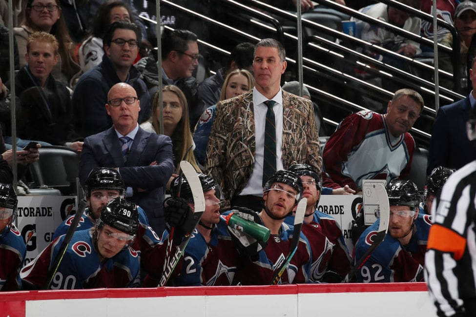Avalanche Coach Bednar Chasing Team Greats
